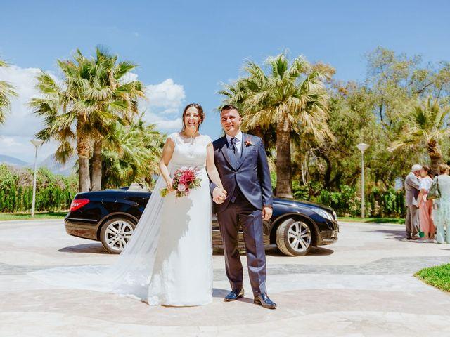 La boda de Sergio y Ana María en La/villajoyosa Vila Joiosa, Alicante 1