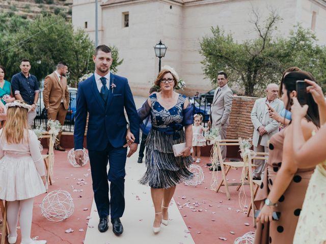 La boda de Diego y Pilar en Beires, Almería 39