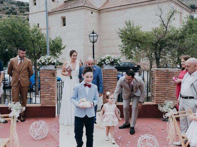 La boda de Diego y Pilar en Beires, Almería 41