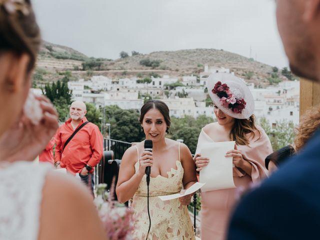 La boda de Diego y Pilar en Beires, Almería 43