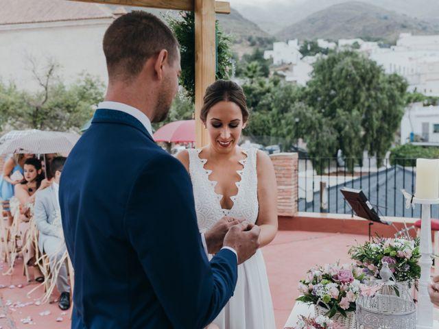 La boda de Diego y Pilar en Beires, Almería 45