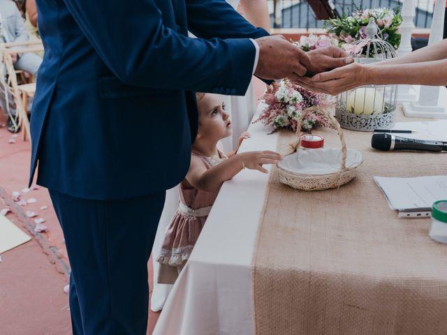 La boda de Diego y Pilar en Beires, Almería 46