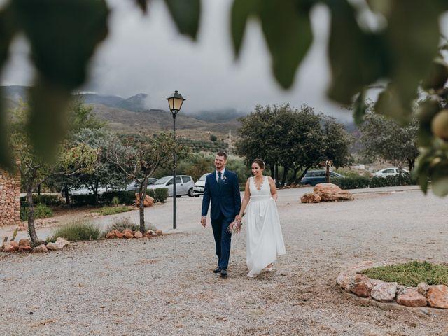 La boda de Diego y Pilar en Beires, Almería 49