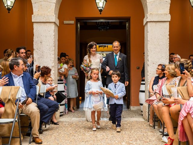 La boda de Laura y Hector en La Seca, León 18