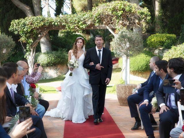La boda de Antonio y Natia en Sant Vicenç De Montalt, Barcelona 14