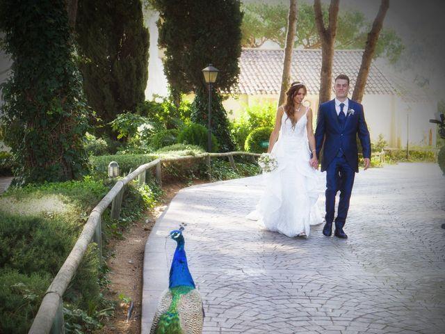 La boda de Antonio y Natia en Sant Vicenç De Montalt, Barcelona 21