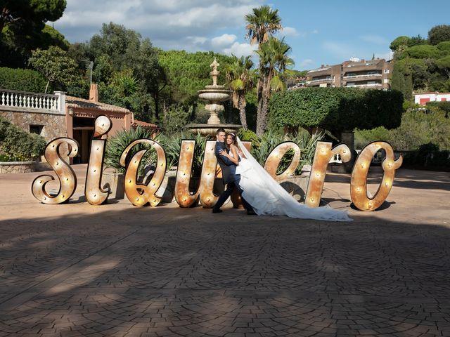 La boda de Antonio y Natia en Sant Vicenç De Montalt, Barcelona 22
