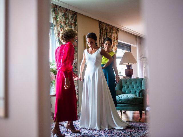 La boda de Borja y Irene en Torrelodones, Madrid 2