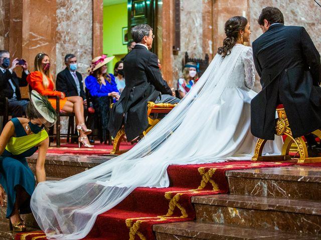 La boda de Borja y Irene en Torrelodones, Madrid 34