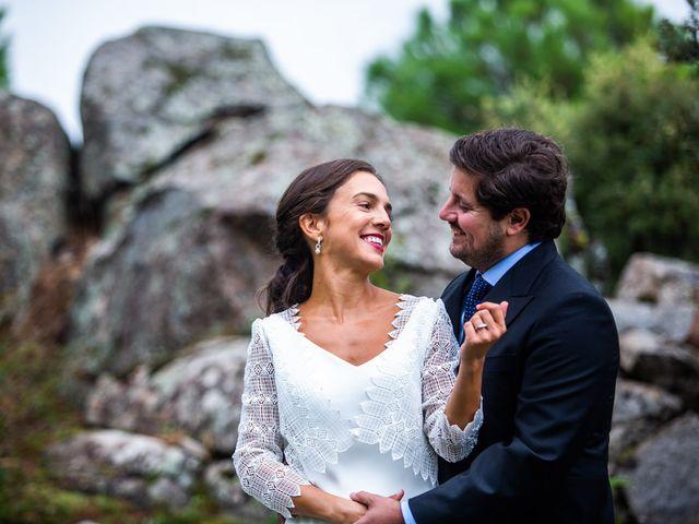 La boda de Borja y Irene en Torrelodones, Madrid 56