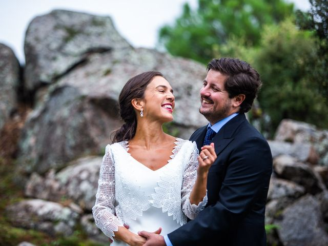 La boda de Borja y Irene en Torrelodones, Madrid 57