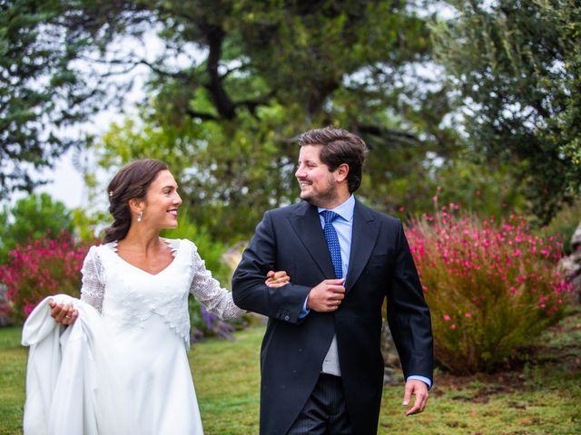 La boda de Borja y Irene en Torrelodones, Madrid 61