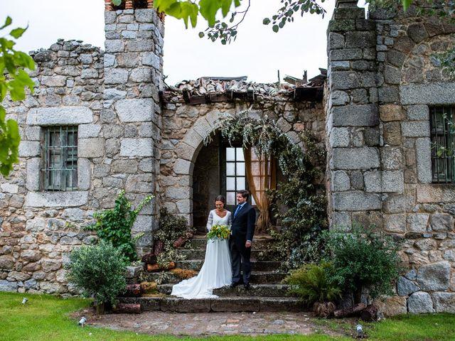 La boda de Borja y Irene en Torrelodones, Madrid 69