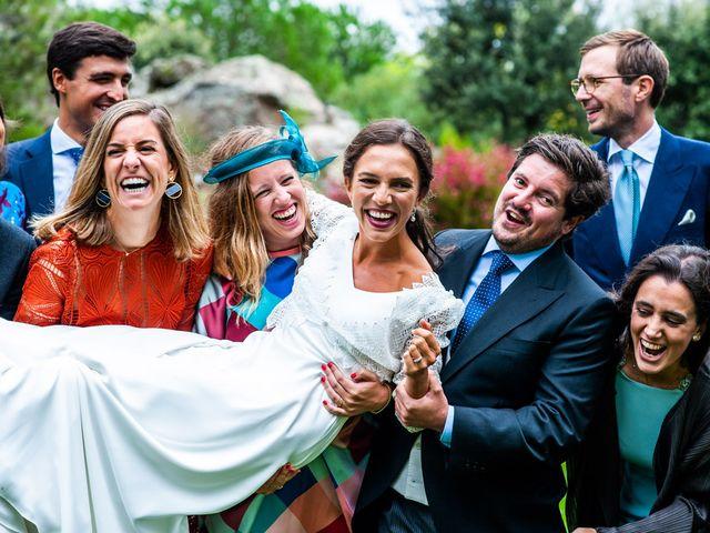 La boda de Borja y Irene en Torrelodones, Madrid 74