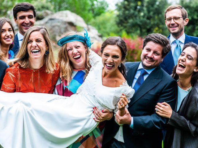 La boda de Borja y Irene en Torrelodones, Madrid 75