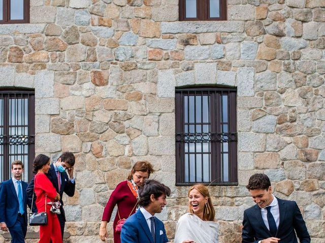 La boda de Borja y Irene en Torrelodones, Madrid 95