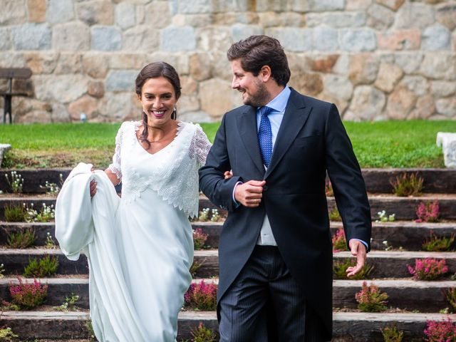 La boda de Borja y Irene en Torrelodones, Madrid 99