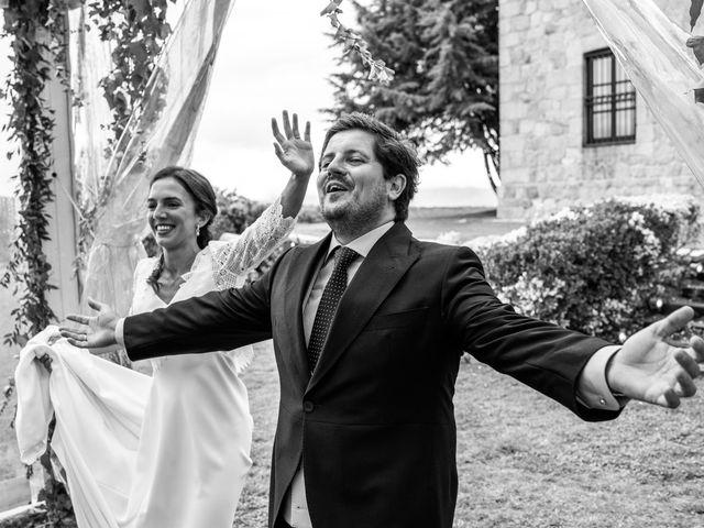 La boda de Borja y Irene en Torrelodones, Madrid 100