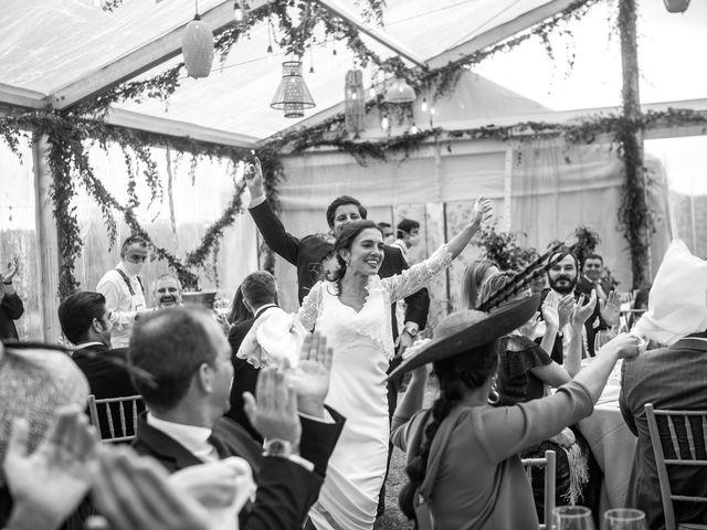 La boda de Borja y Irene en Torrelodones, Madrid 101