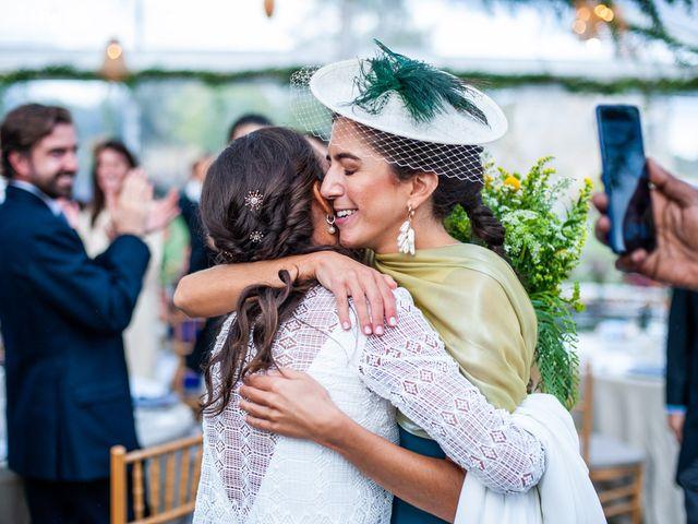 La boda de Borja y Irene en Torrelodones, Madrid 110