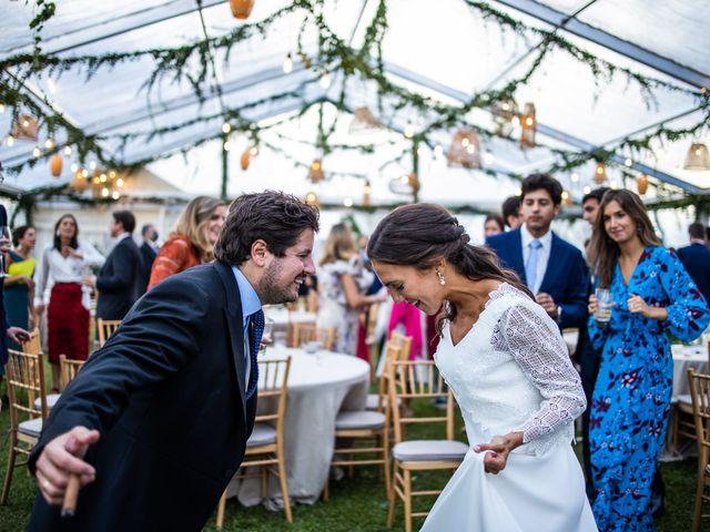 La boda de Borja y Irene en Torrelodones, Madrid 126