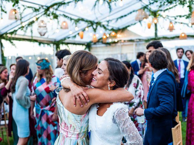 La boda de Borja y Irene en Torrelodones, Madrid 127