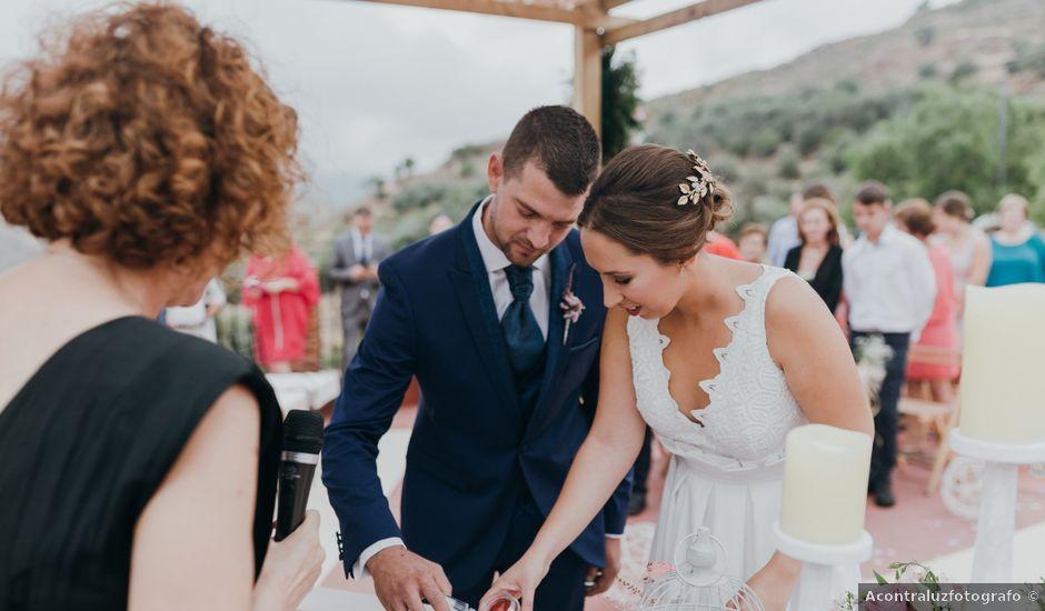 La boda de Diego y Pilar en Beires, Almería