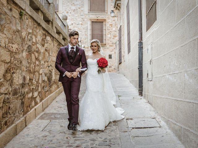 La boda de Roberto y Diana en Cáceres, Cáceres 50