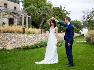 La boda de Meritxell y Javier