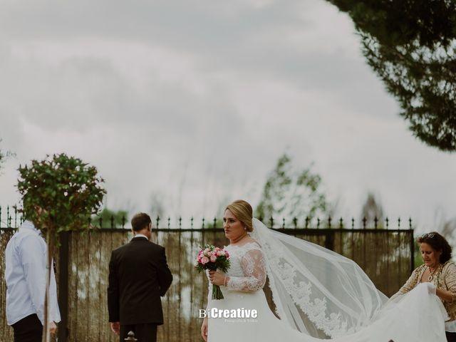 La boda de Pedro y Priscila en Pedro Muñoz, Cáceres 37