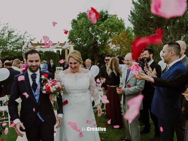 La boda de Pedro y Priscila en Pedro Muñoz, Cáceres 40