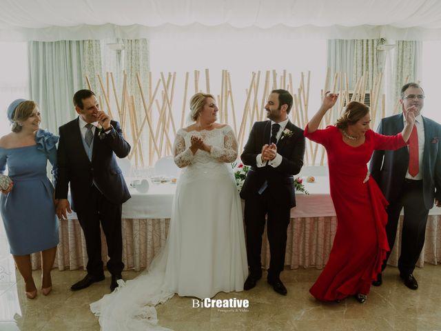 La boda de Pedro y Priscila en Pedro Muñoz, Cáceres 41
