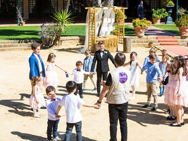 La boda de Patricia y Ivan en Sanlucar La Mayor, Sevilla 3