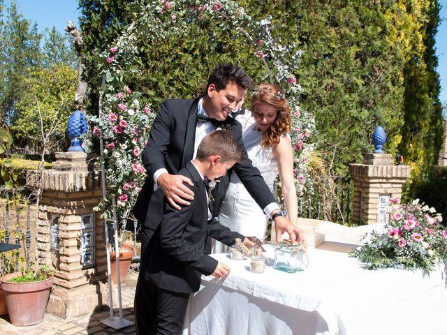 La boda de Patricia y Ivan en Sanlucar La Mayor, Sevilla 4