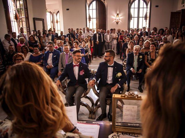 La boda de Juan y Gabi en Málaga, Málaga 19