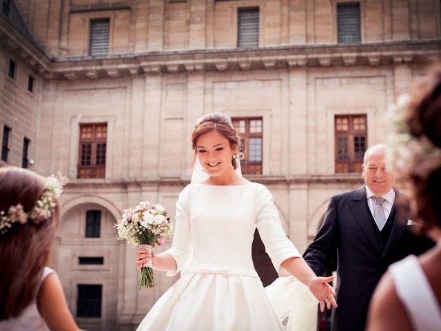 La boda de Jorge y Irene en El Escorial, Madrid 10