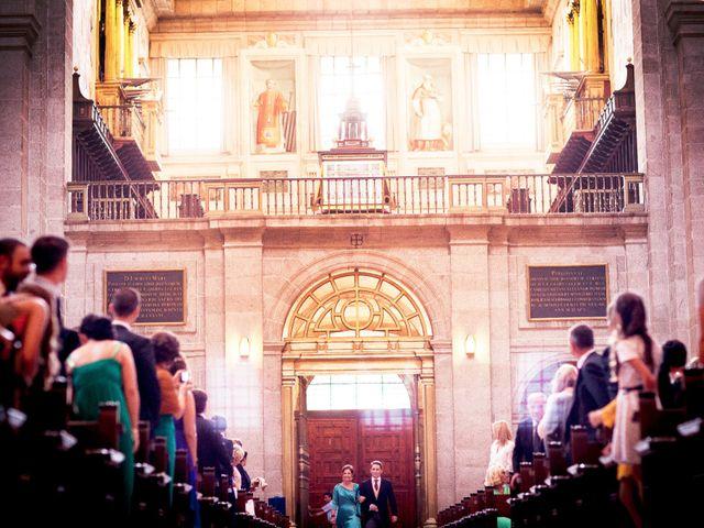 La boda de Jorge y Irene en El Escorial, Madrid 11
