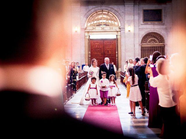 La boda de Jorge y Irene en El Escorial, Madrid 13