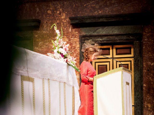 La boda de Jorge y Irene en El Escorial, Madrid 14