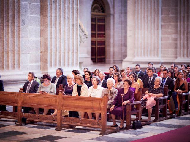 La boda de Jorge y Irene en El Escorial, Madrid 15