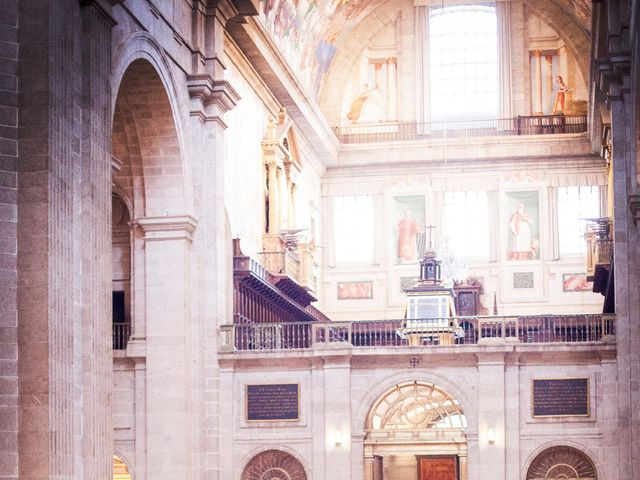 La boda de Jorge y Irene en El Escorial, Madrid 16