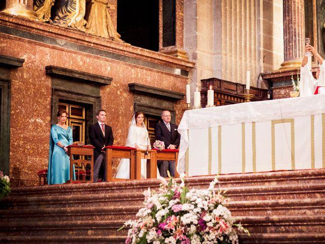 La boda de Jorge y Irene en El Escorial, Madrid 19