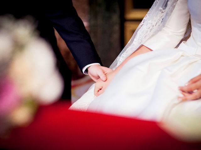 La boda de Jorge y Irene en El Escorial, Madrid 28