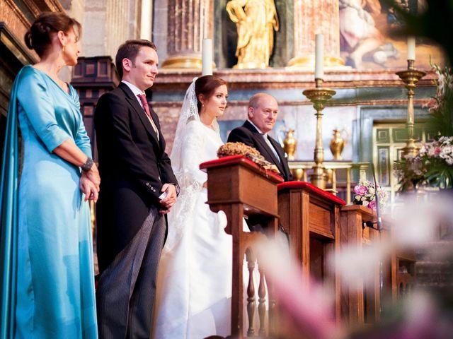 La boda de Jorge y Irene en El Escorial, Madrid 29