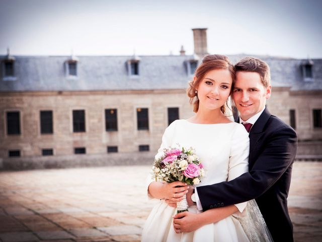 La boda de Jorge y Irene en El Escorial, Madrid 38