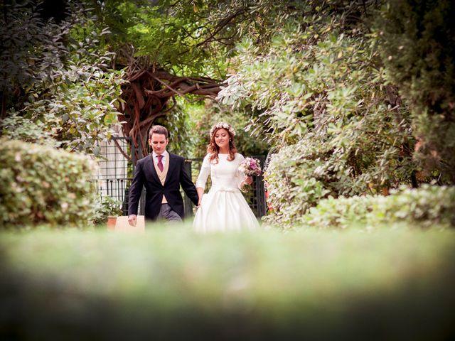 La boda de Jorge y Irene en El Escorial, Madrid 48