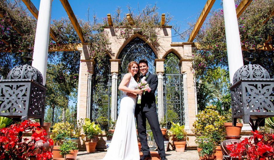 La boda de Patricia y Ivan en Sanlucar La Mayor, Sevilla