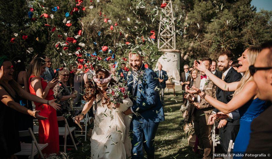 La boda de Albert y Laura en Odena, Barcelona