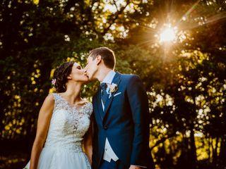 La boda de Antía y Rubén