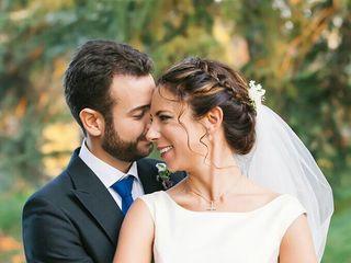 La boda de  Henar  y Borja 1